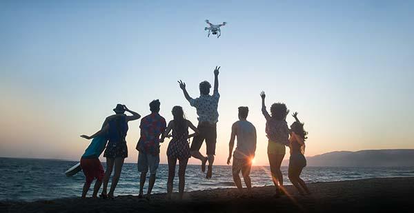 Dịch vụ flycam quay phim teambuilding