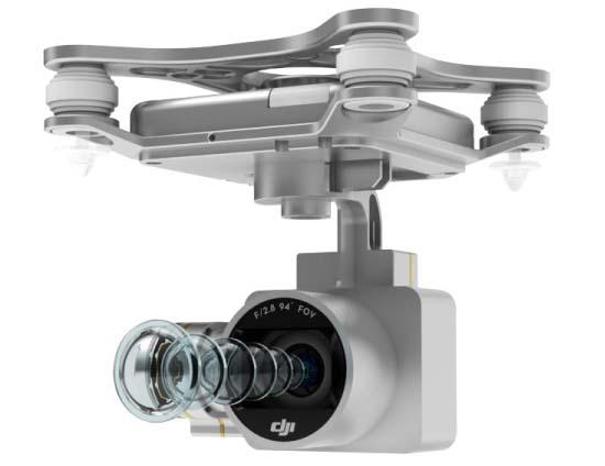Tính năng vượt trội của flycam Phantom 3 Professional