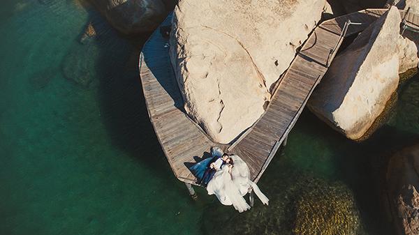 Quay phim chụp ảnh cưới bằng flycam