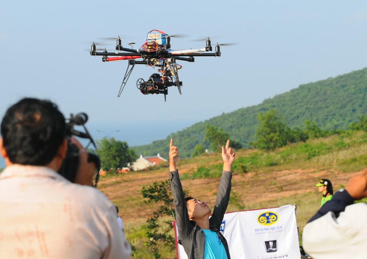 Xu hướng chụp hình quay phim bằng flycam