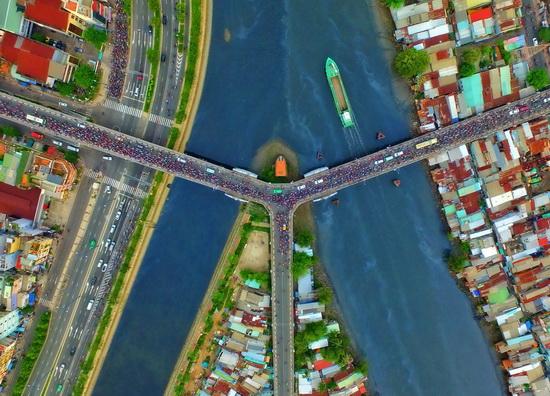 ảnh chụp bằng flycam