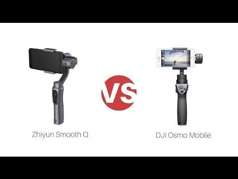 Zhiyun Smooth Q và DJI Osmo Mobile