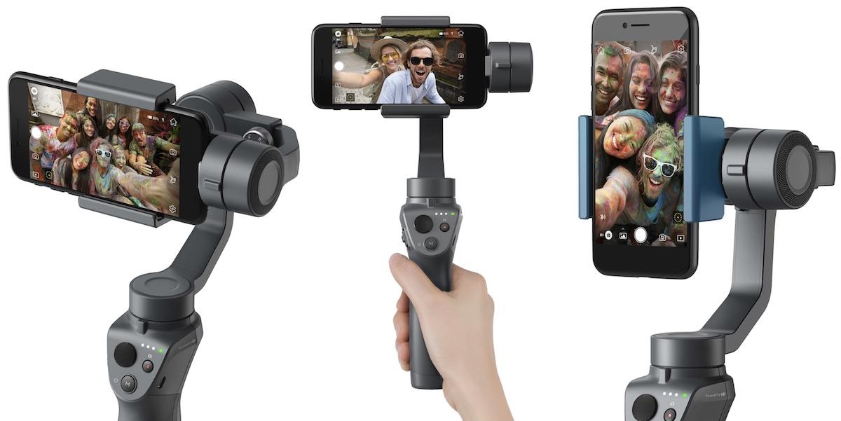 Gimbal chống rung cho điện thoại DJI Osmo Mobile 2