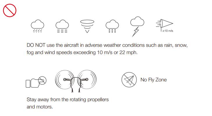 Những lưu ý khi điều khiển chiếc Mavic Air